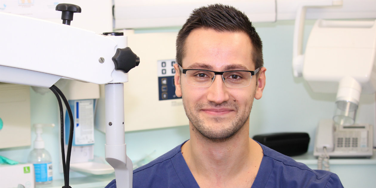 Stefan Ciapryna dentistry award nomination microscope